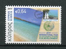 Cyprus 2017 MNH International Year Sustainable Tourism 1v Set Beaches Stamps