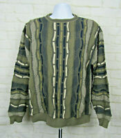 MEN'S VINTAGE PROTEGE COLLECTION  COSBY BIGGIE COOGI STYLE SWEATER SZ XL D