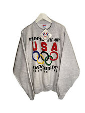 Vintage Team Usa 1996 Olympic Training Team Sweatshirt Size Mens 2XL NWT