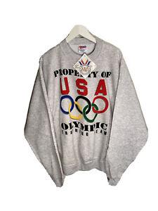 Vintage Team Usa 1996 Olympic Training Team Sweatshirt Size Mens 2XL NWT