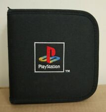 PlayStation PS1/PS2/PS3/PS4 Vintage Retro Black Game Disc Case Wallet