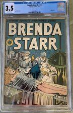 Brenda Starr v2 #4 (1948) CGC 3.5 -- Featured in Seduction of the Innocent Kamen
