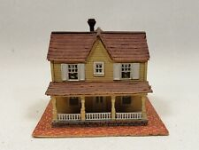 N scale Halloran scratch-built family house