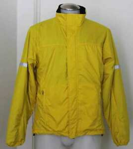 Bellwether VTG Illuminite Cycling Zip Up Windbreaker Reflective Yellow Sz LG