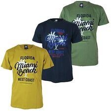 Maglia T-Shirt Uomo NAZARENO GABRIELLI NAZHP12 con Stampa Girocollo Blu Verde