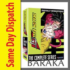 DRAGON BALL GT THE COMPLETE SERIES SEASONS 1 & 2 DVD BOXSET R4 BOX SET