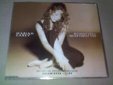 MARIAH CAREY - WITHOUT YOU / NEVER FORGET YOU - UK CD SINGLE