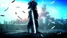 POSTER FINAL FANTASY 7 VII ADVENT CHILDREN CRISIS CORE ZACK FAIR CLOUD STRIFE #5