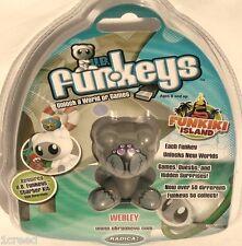 NEW UB Funkeys Funkiki Island Gray Webley Electronic Game Toy Radica