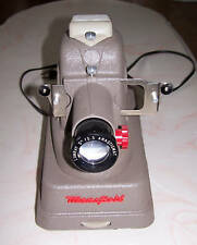 Mansfield Midway VINTAGE SLIDE PROJECTOR w/case 1957 AS IS