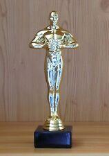 1 Sieger Figur gold 17,5cm mit Gravur #66 (Jubiläum ABI Pokal Pokale Medaillen)