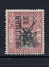 NORTH BORNEO 1895-97 (POSTAGE DUE SG D12S) SPECIMEN ovpt F/VF MH