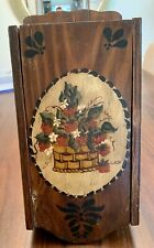 Vintage Spice Cabinet Handpainted, Hand Made