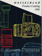 Hasselblad Camera Brochure '91 250TCC 503CX 553ELX 903SWC 500 Classic & Lenses