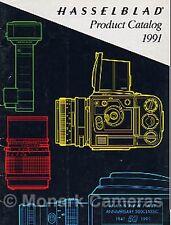 Hasselblad Camera Brochure '91 250TCC 503CX 553ELX 903SWC 500 Classic & Lenses