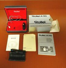 Rollei A110 box and accessories- no camera
