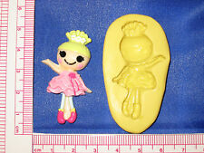 LalaLoopsy Flexible Silicone Push Mold Resin Clay Candy Bookscraping A492