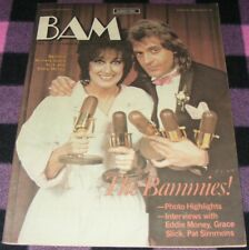 BAM magazine March 25 1983  #152  Bammie winners Grace Slick & Eddie Money  RARE