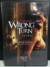 Wrong Turn 3: Left for Dead (DVD, 2009, Bilingual)-Horror