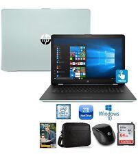 "HP 17 Core i3-7100 2TB HDD 17.3"" HD+ Touch Screen Laptop Bundle"