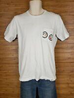 Uniqlo UT White Nintendo Graphic T-Shirt Mens Size Medium M