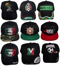 Mexico Baseball Caps Hats Embroidered  - Assorted Styles  6 Pc Lot - CapMx-6 ^*