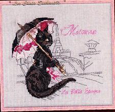 La Belle Epoque, Matouvue - fabulous cats cross stitch chart - Nimue