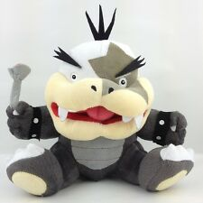 "Morton Koopa Jr. Super Mario Bros Plush Toy Big Mouth Koopalings Bowser Kids 7"""