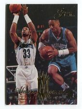 1994-95 Flair Alonzo Mourning #18 CHARLOTTE HORNETS