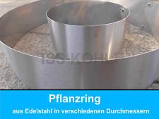 Pflanzenring Beeteinfassung Rasenkanten Edelstahl nirosta Beetumrandung Ring
