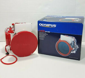Olympus Camedia PT-023 Underwater Case 200464 and Silicone Grease Kit