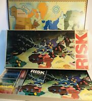 Vintage RISK Board Game No 44 Parker Brothers World Conquest 1975 1980 *Complete