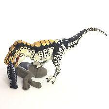 Dinotales Dinosaur Mini Figure Tarbosaurus White Kaiyodo