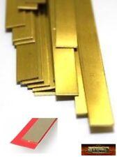 M01302a Morezmore 3 Flat Brass Metal Strips 18 x 0.5 x 300 mm #9842 Metric A60
