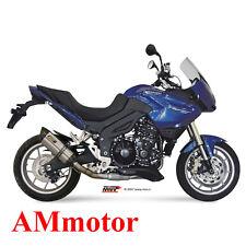 Mivv Triumph Tiger 1050 2013 13 Terminale Di Scarico Suono Inox Moto Basso