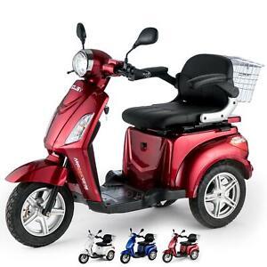 Scooter elettrico 3 ruote Disabili Anziani 25km/h 900W VELECO ZT15