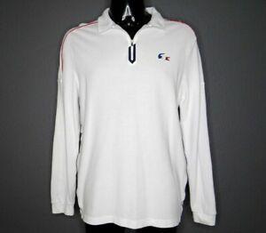 LACOSTE SPORT Polo Shirt White Men's size XL (6)