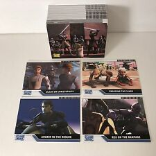 STAR WARS: THE CLONE WARS (Topps/2008) COMPLETE CARD SET Based on Animated Movie
