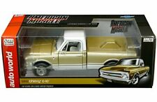 Auto World 1:18 American Muscle 1968 Chevrolet C-10 Pickup Truck Diecast AMM1165