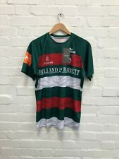 Kukri Leicester Tigers Rugby Men's Home Jersey - Medium - Green - New