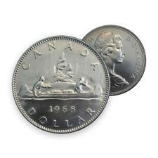 Canada 1968 $1 Voyageur Dollar Coin (Circulated)