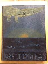 1946 US NAVAL ACADEMY YEARBOOK, THE LUCKY BAG, ANNAPOLIS, MD