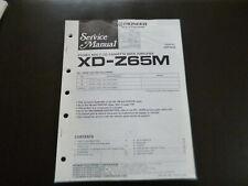 Original Service Manual Schaltplan Pioneer XD-Z65M