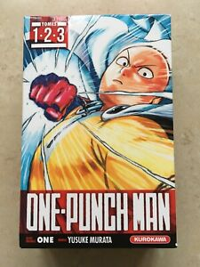 One-Punch Man - Coffret ed 2017 - Vol. 1-2-3 - One / Yusuke Murata - rare