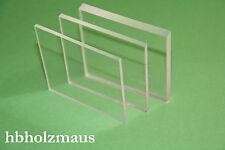 (23,99€/m²) PLEXIGLAS® XT klar, Acrylglas , 2 mm, Zuschnitt Größe wählbar