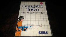 **CASE ONLY** Gangster Town (Sega Master, 1987)
