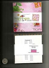 """Benartex Happiness Is by Mary Lou Weidman Charm Pack - 29 5"""" Quilt Squares - OOP"""