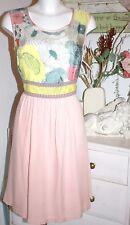 Avoca Dress Kleid Nancy Dream Multicolor size: 3 /40 / L   Neu