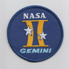 """NASA Gemini Program (1961-1966) Embroidered Patch (3""""/75 mm diameter approx)"""