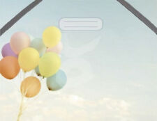 "jakkapan Portfolio ""Luftballons"": Mappe für DIN A6 Postkartenmappe Sammelmappe"